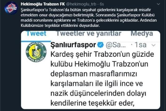 Hekimoğlu Trabzon'dan alkış alacak hareket!