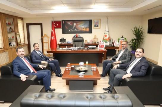İlçe Belediye Başkanlarından Genel Sekreter Kırıkçıya ziyaret