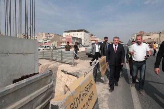 Karakoyun köprülü kavşağı'ndaki çalışmalar sürüyor
