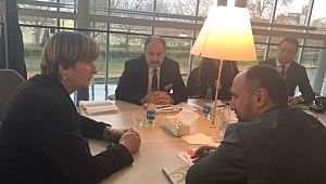 Mehmet Kasım Gülpınar AP çalışmalarını izlemek üzere Strazburg'da