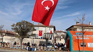 Nevşehirli şehidin mahallesi Türk bayraklarıyla donatıldı