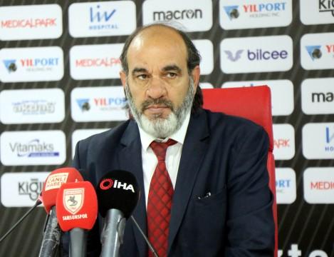 Samsunspor - Şanlıurfaspor maçının ardından