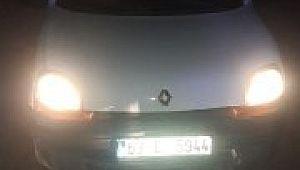 Şanlıurfa'da çalınan araç Gaziantep'te ele geçirildi