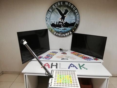 Şanlıurfa'da kumar operasyonu