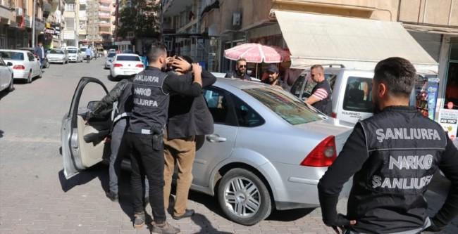 Şanlıurfa'da uyuşturucu operasyonu: 35 tutuklama