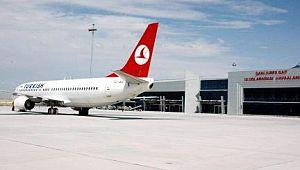Şanlıurfa GAP Havalimanı 10 ayda 607 bin 456 yolcuya hizmet verdi