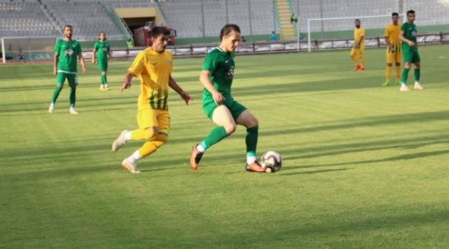 Şanlıurfa spor'a gol yağdı