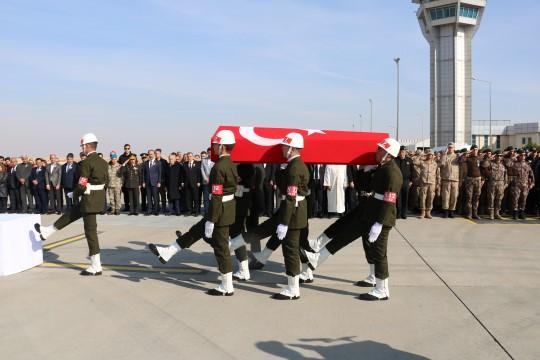 Şehit Mustafa Akkaya memleketine uğurlandı