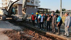 Suruç Kanalizasyon projesi başladı