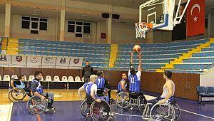 Tekerlekli Sandalye Basketbol takımı Şanlıurfa maçına hazırlanıyor