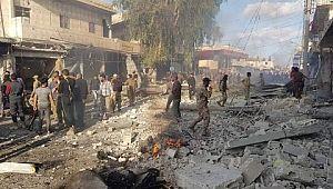 Tel Abyad'da pazar yerinde bombalı araç saldırısı: 10 ölü, 23 yaralı
