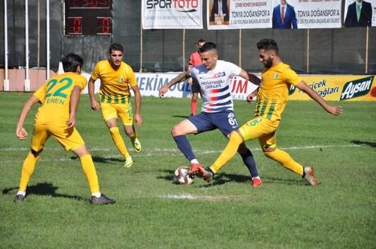 TFF 2 Lig: Hekimoğlu Trabzon FK: 5 - Şanlıurfaspor: 0
