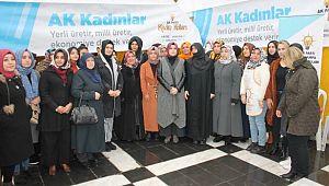 Ak kadınlardan yerli üretime destek