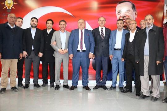 AK parti Akçakale ilçe teşkilatında delege seçimi yapıldı