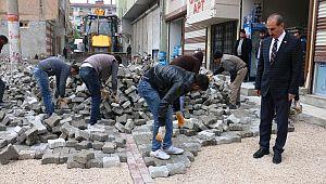 Akçakale'de sokaklar bir bir gözden geçiriliyor