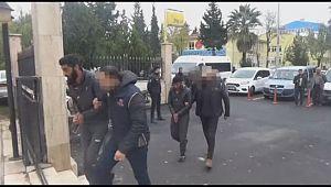 Barış Pınarı Harekatı'nda yakalanan 8 terörist tutuklandı