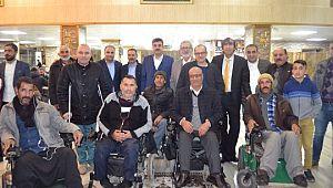 Eyyübiye Belediyesi engellileri yine yalnız bırakmadı