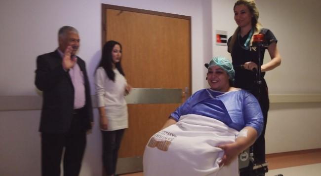 Hollanda'dan gelip Şanlıurfa'da obezite ameliyatı oldu