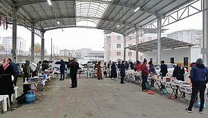 HRÜ Halfeti MYO'da Mehmetçik Vakfı Yararına Kermes Düzenlendi