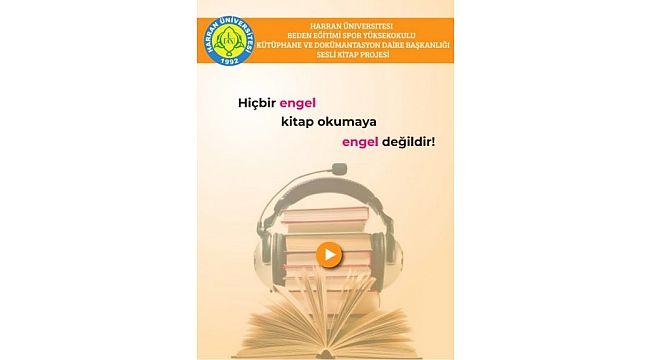 HRÜ Öğrencileri, Görme Engellilere Yönelik Sesli Kitap Projesi Geliştirdi