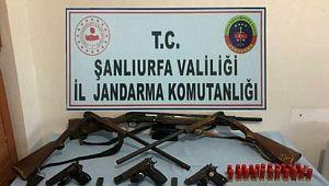 Silah kaçakçılığına yönelik operasyon