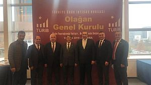 Kaya Türkiye Ürün İhtisas Borsası toplantısına katıldı
