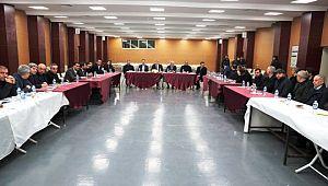 Koordinasyon toplantılarının ikincisi Siverek'te yapıldı