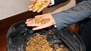 Otelde bulunan 7 kilo altının sahte olduğu ortaya çıktı