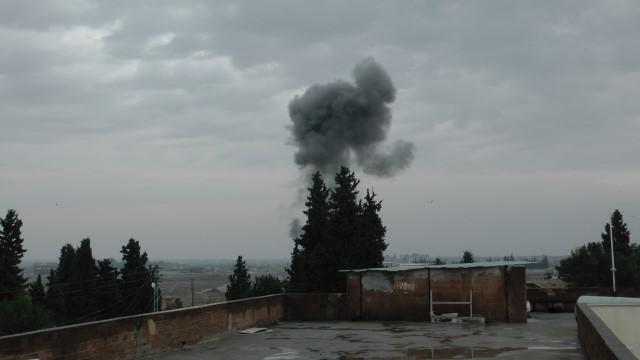 Rasulayn'da toprak altında bulunan mühimmat kontrollü şekilde patlatıldı