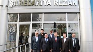 Şanlıurfa Büyükşehir Belediye Başkanı Beyazgül'den Başkan Beyoğlu'na Ziyaret