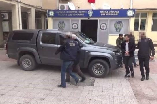 Şanlıurfa'da FETÖ'nün gaybubet evlerine operasyonda 2 tutuklama