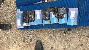 Şanlıurfa'da kaçak cep telefonları ile sigara ele geçirildi