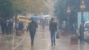 Şanlıurfa'da sis ve yağmur etkili oluyor