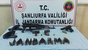 Şanlıurfa'da uzun namlulu silahlar ve uyuşturucu ele geçirildi