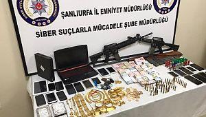 Şanlıurfa'da yasa dışı bahis operasyonu: 17 gözaltı