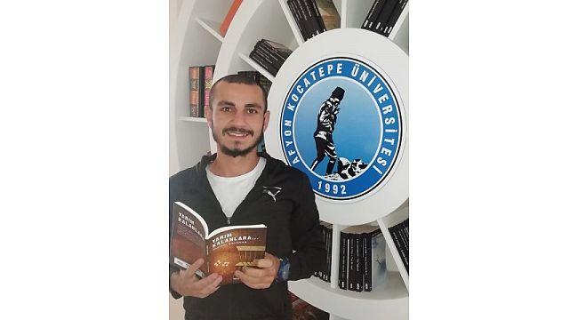 Üniversite öğrencisinin 'Yarım Kalanlara' isimli kitabı yayınlandı