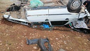 Viranşehir'de trafik kazası:1 yaralı