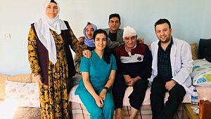 Yaşlı ve kimsesiz hastaların umudu: evde bakım