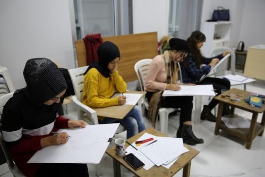 Yetenek sınavlarına Haliliye ile hazırlanıyorlar