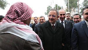 Ak parti genel başkan yardımcısı Mehmet Özhaseki, Akçakale'de (Videolu Haber)