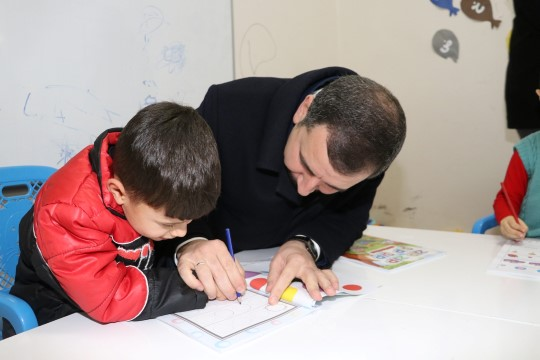 Baydilli'den kuran kursuna ziyaret (Videolu Haber)