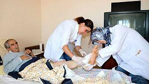 Evde sağlık hizmetinden 4 bin 73 kişi yararlandı