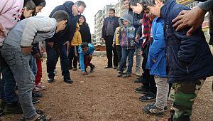 Eyyübiye belediyesinden Selçuklu mahallesine bir park daha (Videolu Haber)