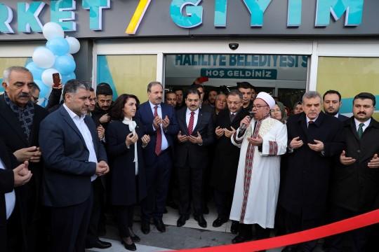Haliliye belediyesinden büyük açılış (Videolu Haber)