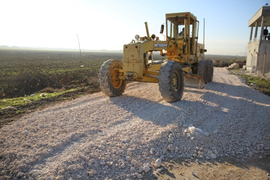 Haliliye'de ekipler 4 mevsim iş başında (Videolu Haber)