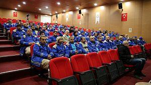 Haliliye'den temizlik personeline iş sağlığı güvenliği eğitimi (Videolu Haber)