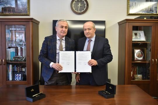 Harran üniversitesiile Milli eğitim bakanlığı arasında tanıtım ve iş birliği protokolü imzalandı