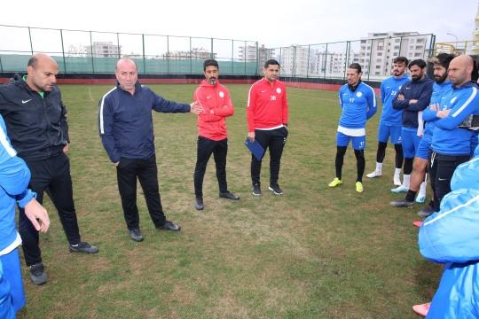 İhsan Karabulut ilk antrenmanına çıktı (Videolu Haber)