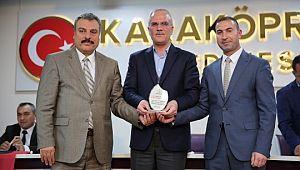 Karaköprü belediyespor'da yeni başkan ahmet Kenan Kayral oldu (Videolu Haber)