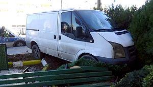 Minibüsün çarptığı yayanın durumu ağır